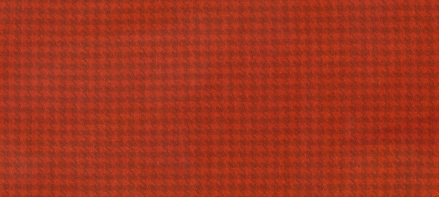 Wool Fat Quarter 2268 HT Fire Houndstooth 16in x 26in