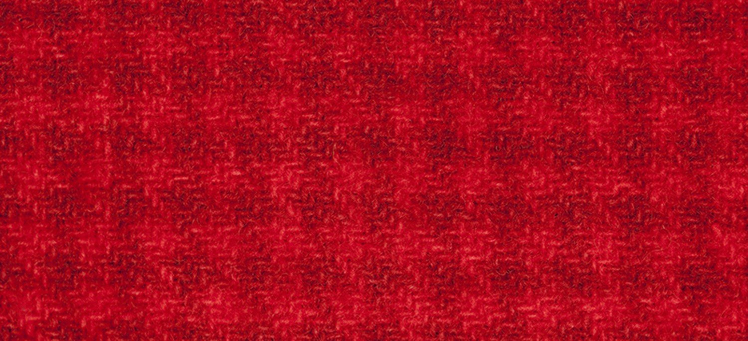 Wool Fat Eighth 2268a HT Candy Apple Houndstooth 13in x 16in