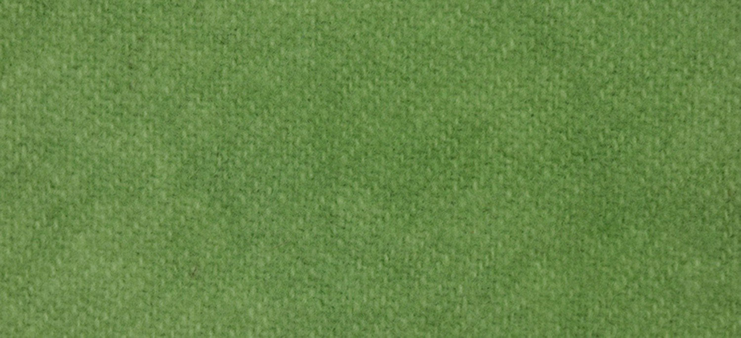 Wool Fat Quarter 2191 Granny Smith Solid 16in x 26in