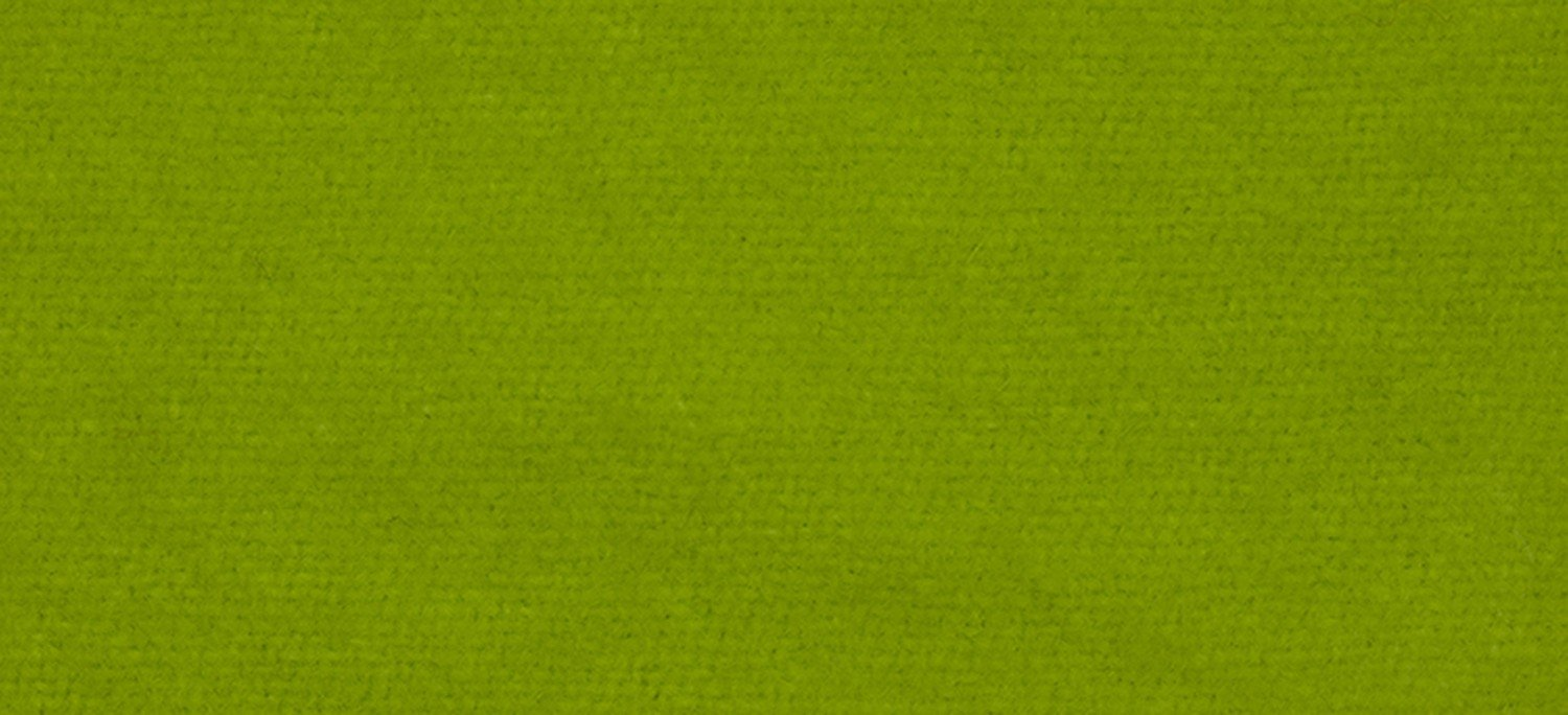 Wool Fat Quarter Solid 2203 Chartreuse 16in x 26in