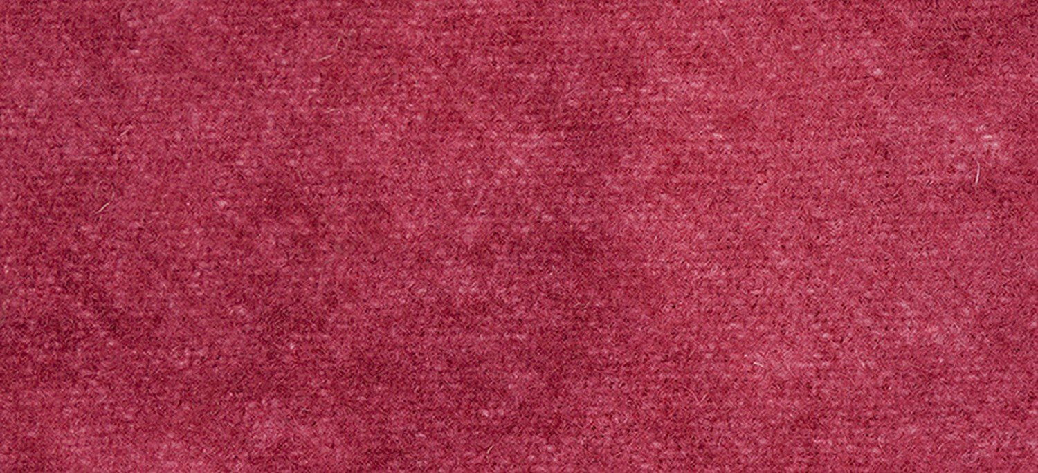 Wool Fat Eighth 2263 Begonia Solid 13in x 16in