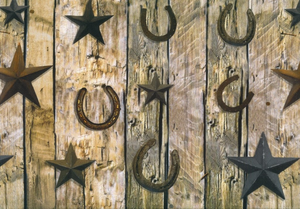 Sun Up to Sun Down - Horseshoes - Rust