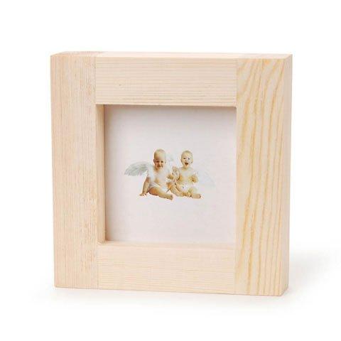 3 X 3 Square Wood Frames - 082676776823