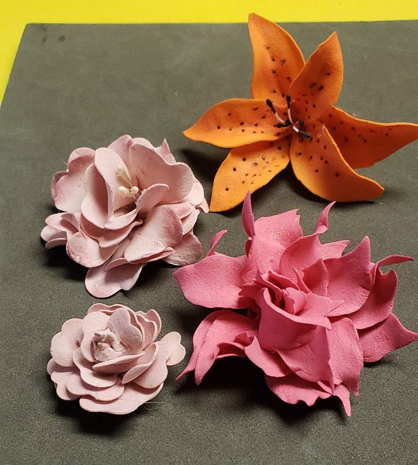Flowers Kaisercraft Art Foam