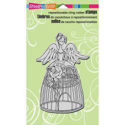 Angel Aviary Stamp
