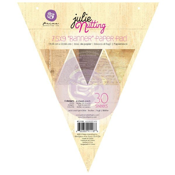 Julie Nutting Banner Pad