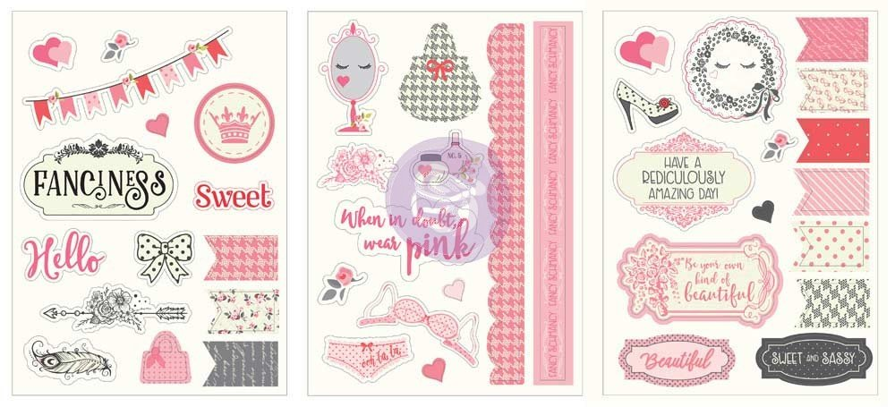 Julie Nutting Being Girlie Stickers