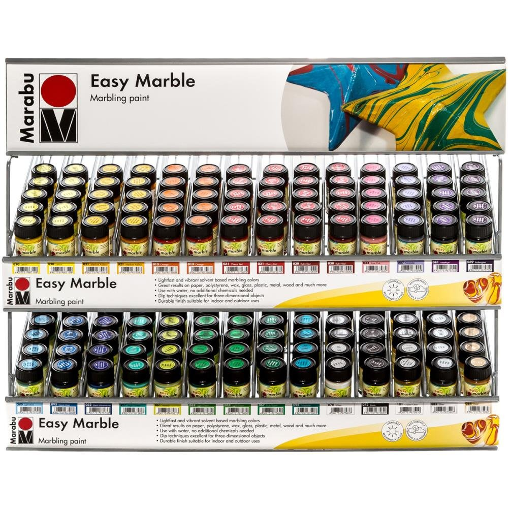 Easy Marble Marbling Paint