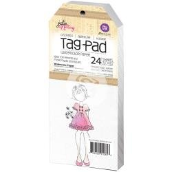Julie Nutting Watercolor Tag Pad