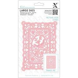 Xcut Large Die - Lace Frame