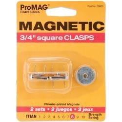 ProMag 3/4 Square Clasp Magnet