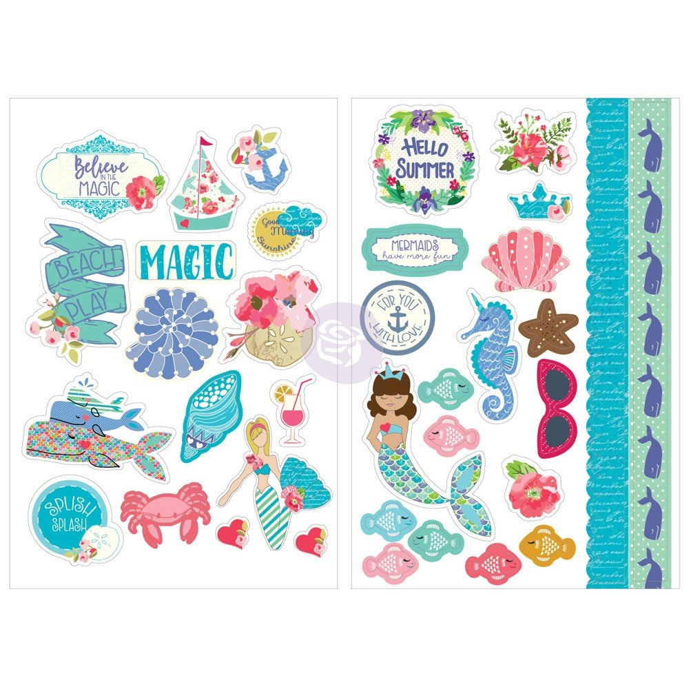Julie Nutting Mermaid Kisses Stickers