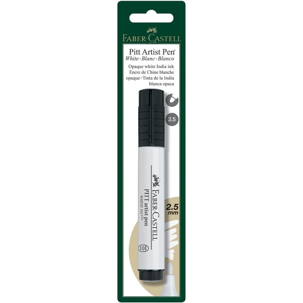 Faber-Castell White Pitt Artist Pen