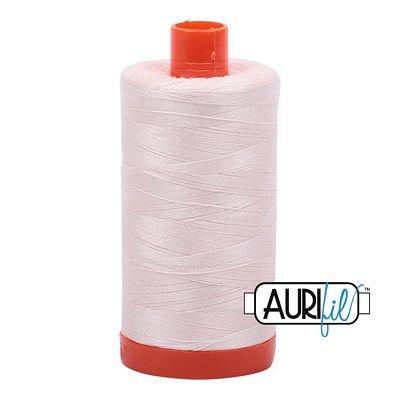 Aurifil Cotton Mako Thread 50wt - Oyster
