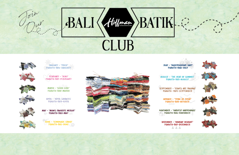 Bali Batik Club - April: April Showers