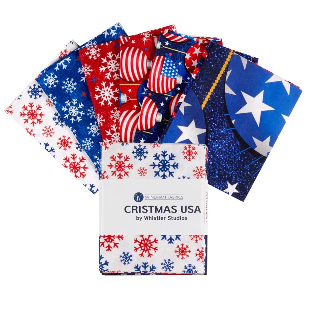 Christmas USA Fat Quarter Bundle