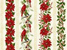 Hoffman Santa`s Sweets Natural Border