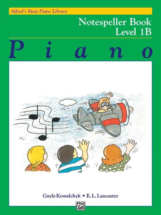 Alfred's Basic Piano Notespeller Level 1B