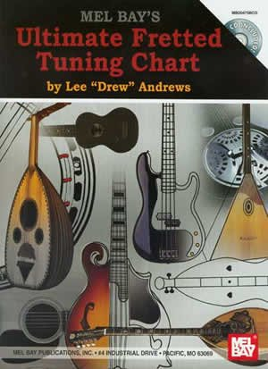 Ultimate Fretted Tuning Chart +CD