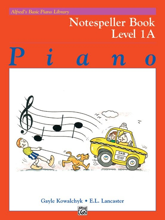 Alfred's Basic Piano Notespeller Level 1A