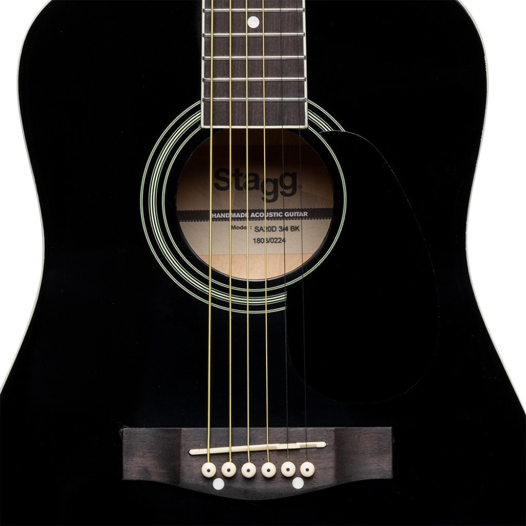Stagg SA20D 3/4 guitar black