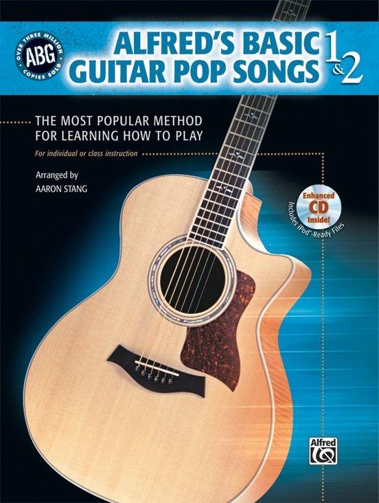 Alfred's Basic Guitar Pop Songs 1&2 w/CD