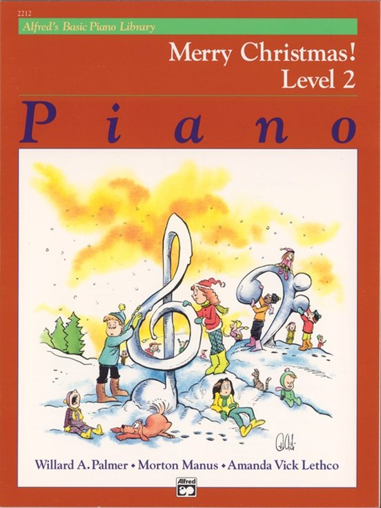 Alfred's Basic Piano Merry Christmas! Level 2