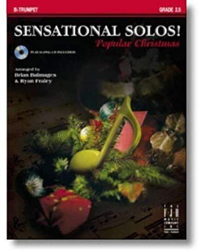 Sensational solos Pop Christmas - Tpt w/CD
