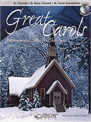 Great Carols - Clarinet/Tenor Sax w/CD