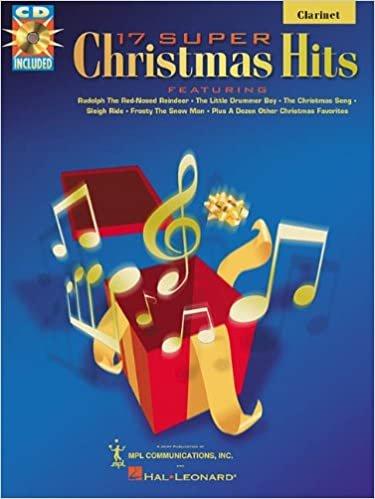 17 Super Christmas Hits - Clarinet w/CD