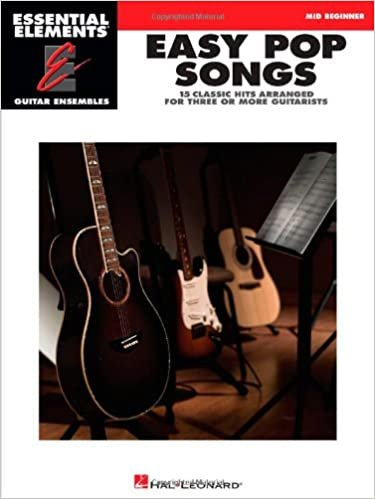 Essential Elements Guitar Ensemble - Easy Pop Songs