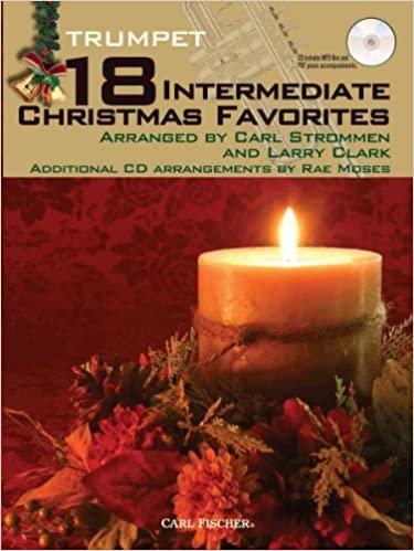 18 Intermediate Christmas Favorites  - Trumpet