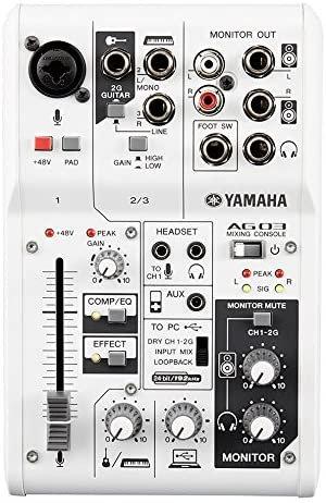 Yamaha AG03 Mixing Console