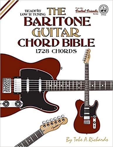 The Baritone Guitar Chord Bible