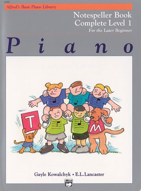 Alfred's Basic Piano Notespeller Complete 1