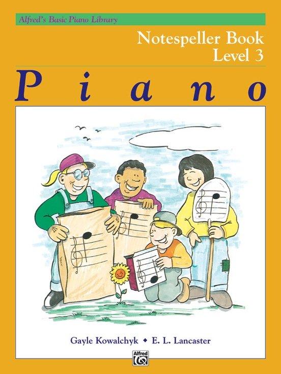 Alfred's Basic Piano Notespeller Level 3