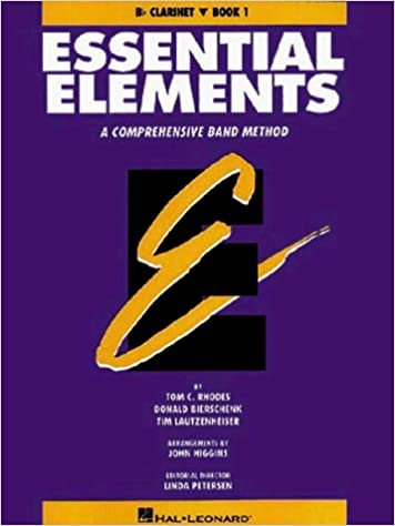 Essential Elements Bb Clarinet Book 1