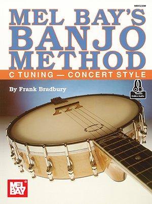 Banjo Method (Book + Online Audio) C Tuning - Concert Style