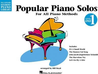 HL Popular Piano Solos - Level 1