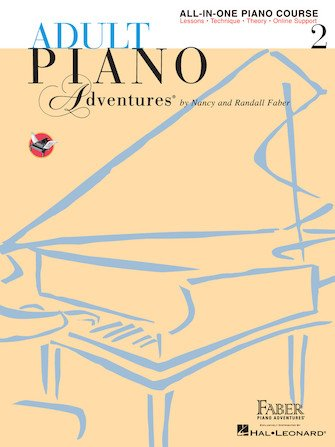 Adult Piano Adventures - All in One Book 2 w/CD