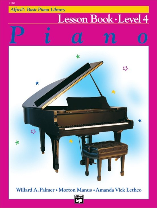 Alfred's Basic Piano Lesson Level 4