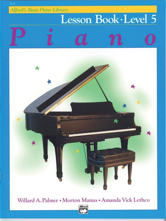 Alfred's Basic Piano Lesson Level 5