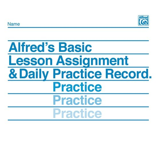 Alfred's Basic Piano Assignment Record Book