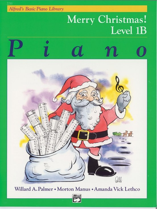 Alfred's Basic Piano Merry Christmas! Level 1B