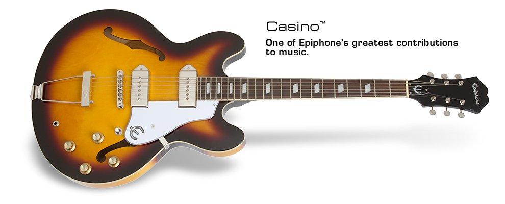 Epiphone Casino vintage sunburst