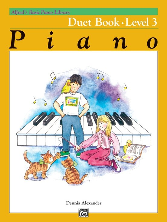 Alfred's Basic Piano Library: Duet Level 3