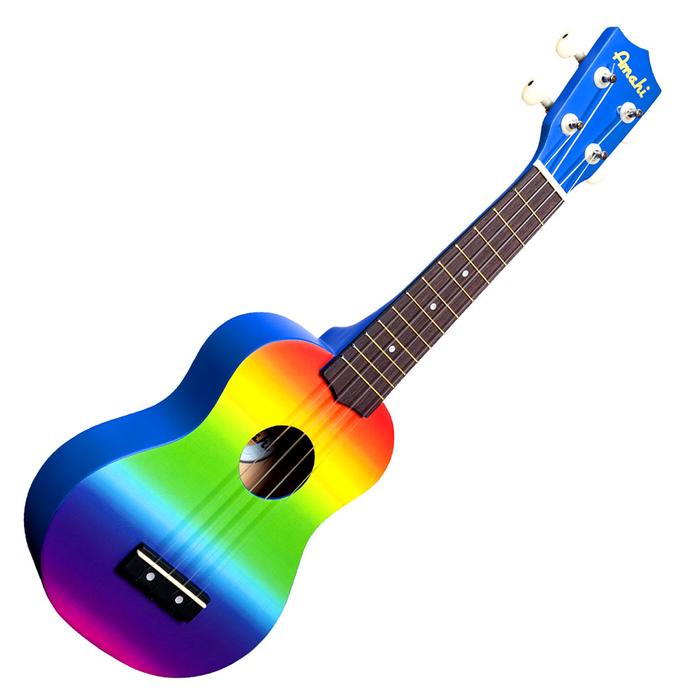 Amahi Rainbow Gradient Ukulele DDUK1