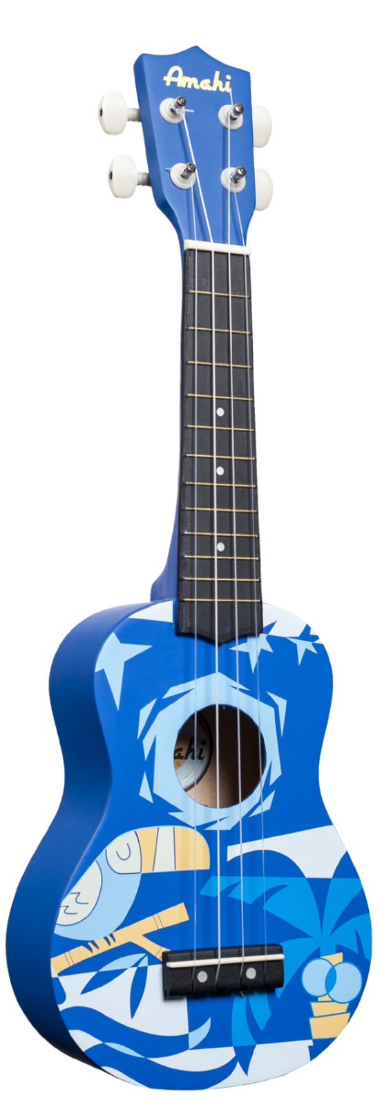Amahi Bluebird Soprano Uke DDUK2