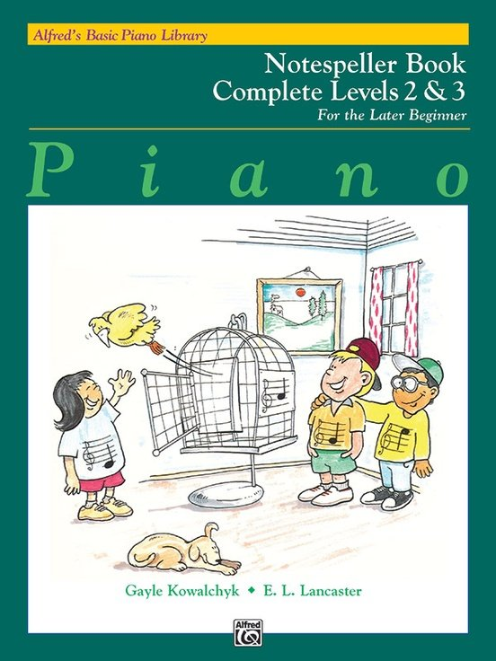 Alfred's Basic Piano Notespeller Complete 2&3