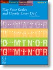 Play Your Scales and Chords Every Day Book 4